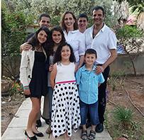 יונית ורבר והמשפחה - פסח 2016